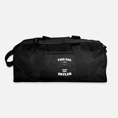 Skyler This Gal Loves Her Skyler Valentine Day Gift - Duffle Bag