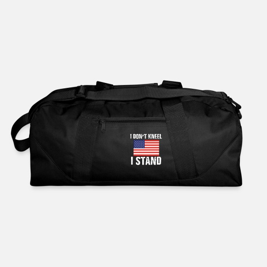 Kneel Bags & Backpacks - I Don'T Kneel - I Stand - Duffle Bag black