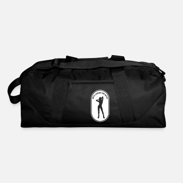 Bitch Sayings Bitch looking for Macho saying - Duffle Bag