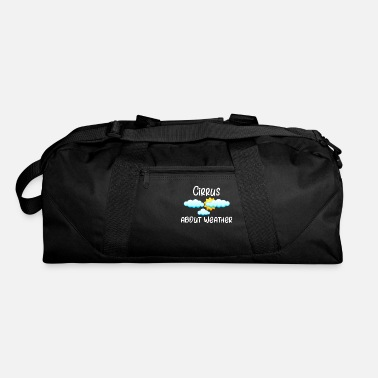 Cirrus Weather Cirrus About Weather Meteorology - Duffle Bag