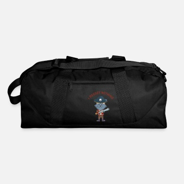 Cutthroat Island Pirate pirate kids boys gift cat - Duffle Bag