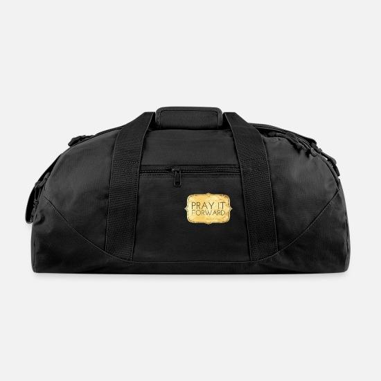 Pray It Forward Duffel Bag Black