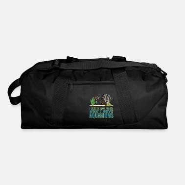 Aquarium I used to have money fun fishing design. - Duffle Bag