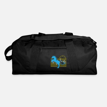 Forest Horse Heartbeat - Nature Lover Gift - Duffle Bag