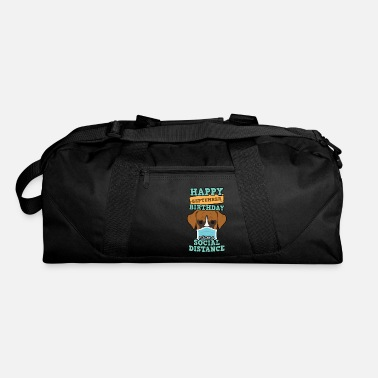 Social Distancing Gift Happy September Birthday - Duffle Bag