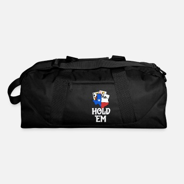 Poker Texas Holdem Shirts For Men Texas Flag Hold Em - Duffle Bag