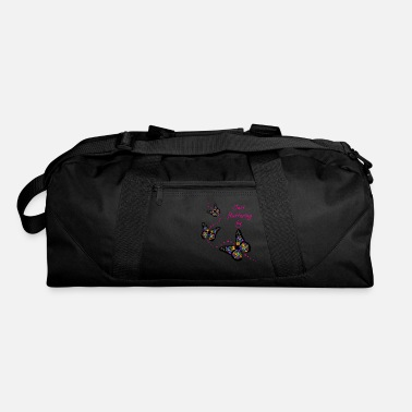 Flutter Just fluttering by - Duffle Bag