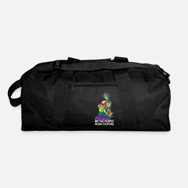 We The People Means Everyone LGBT - Duffle Bag