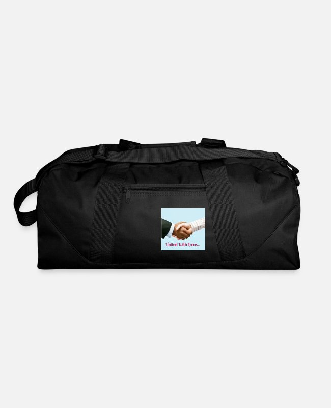 Black Life Matters Bags & Backpacks - United with Love - Duffle Bag black