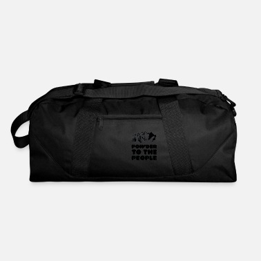 Powder Powder To The People - Duffle Bag