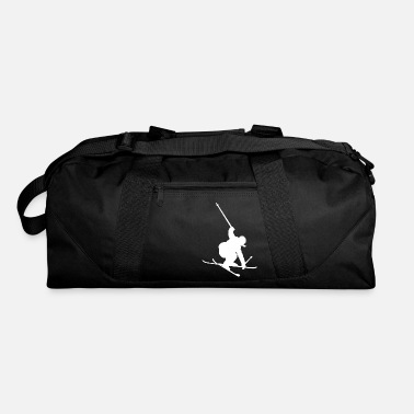 Ski Skiing Freestyle Jump Winter Sports Jumping - Duffle Bag