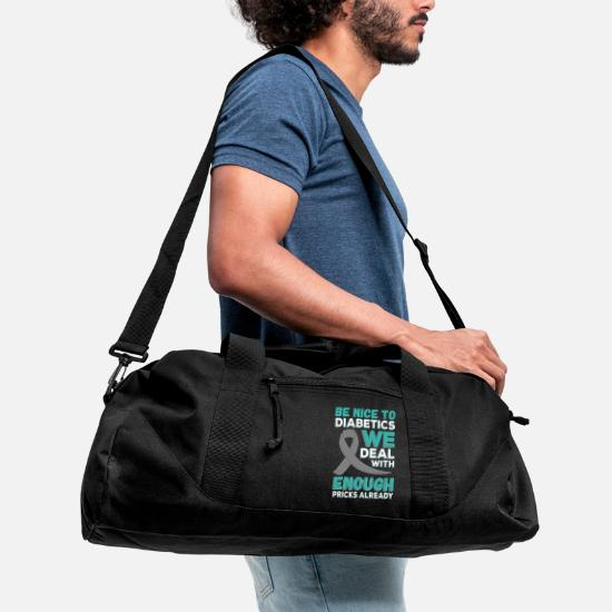 Diabetes Duffle Bag Spreadshirt