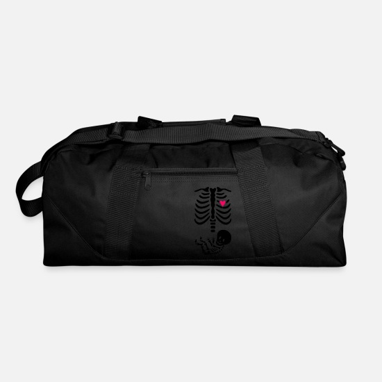 Art Bags & Backpacks - Maternity Skeleton - Duffle Bag black