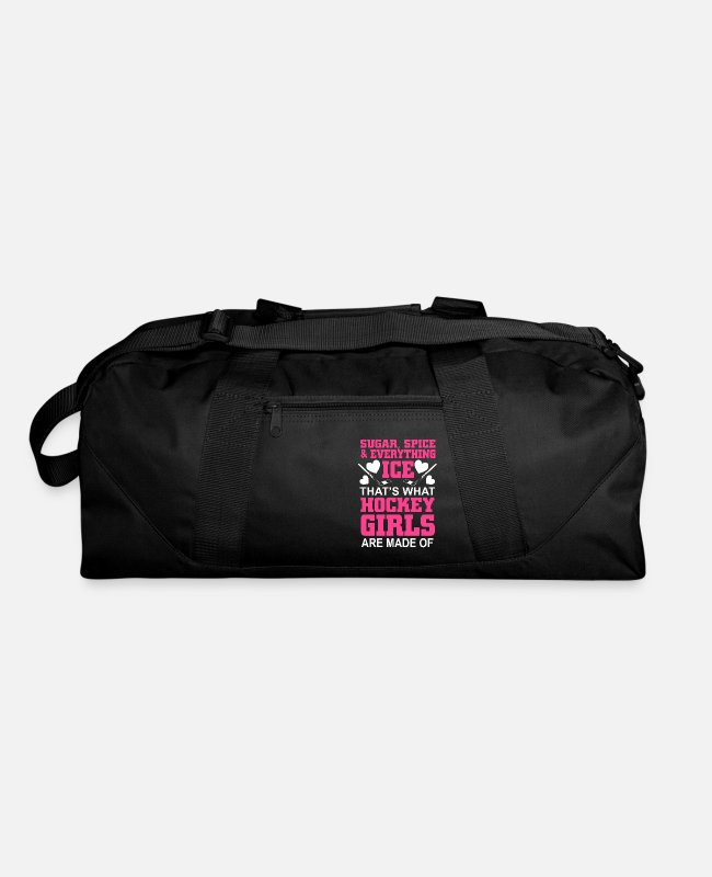 Field Bags & Backpacks - sugar spice and everything ice - Duffle Bag black