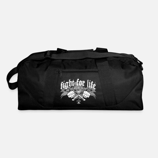 Rowdy Bags & Backpacks - Fight for Life - Duffle Bag black
