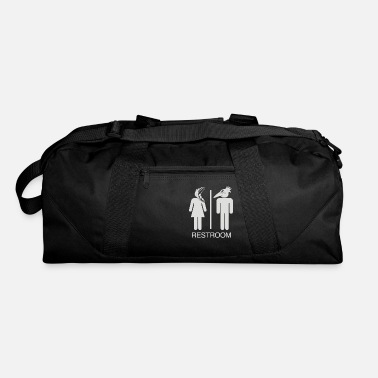 Restroom Restroom for the Recently Deceased - Duffle Bag