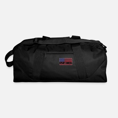 American Flag In Distress infidel distressed American Flag - Duffle Bag
