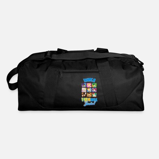 Youtube Bags & Backpacks - Have a FUNnel Year - Duffle Bag black