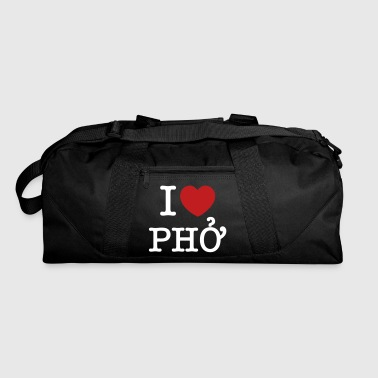 I Heart (Love) Pho - Duffel Bag
