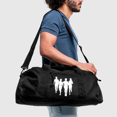 run, running - people running - Duffel Bag