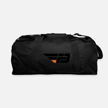 FBL Black Orange no na - Duffle Bag