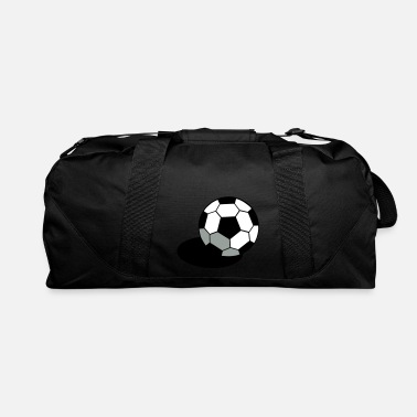 Pineapple And Soccer SOCCER FOOTBALL BALL WITH A SHADOW - Duffle Bag