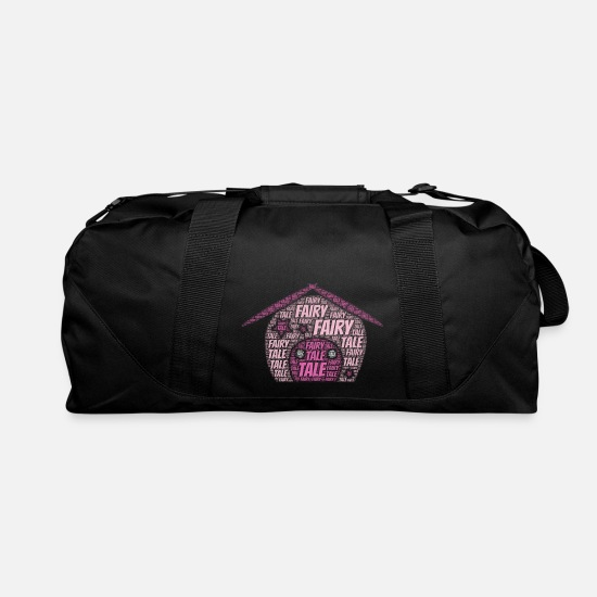 Birthday Bags & Backpacks - Fairy Tale | Presents - Duffle Bag black