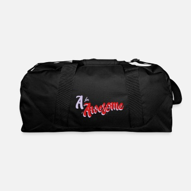 Awesome A for Awesome - Duffle Bag