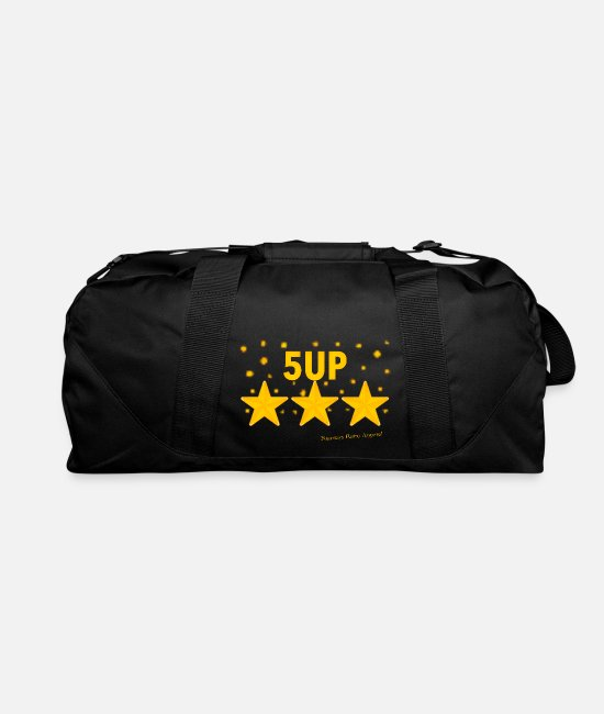 "Classic Game Bags & Backpacks - ""Ramseys 5-UP Stars"" - Duffle Bag black"