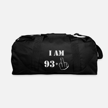 Happy 93 94th Birthday T Shirt 93 + 1 Made in 1923 - Duffle Bag