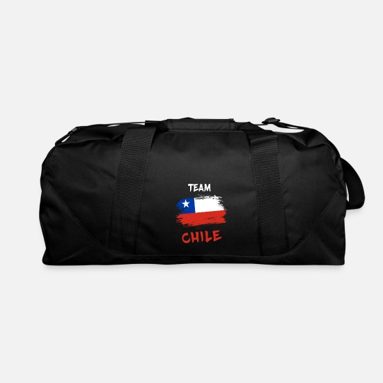 Chile Bags & Backpacks - Team Chile / Gift National Flag South America - Duffle Bag black