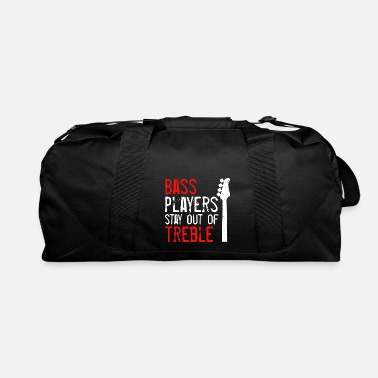 Bassist Bassist Bass Guitar Musical Instrument Band Rock - Duffel Bag