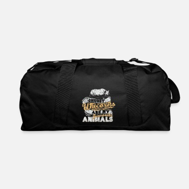 Horns Rhino Safari Gift - Duffle Bag