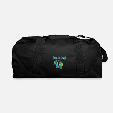 Palm Trees Summer Beach Sea Gift Idea - Duffle Bag