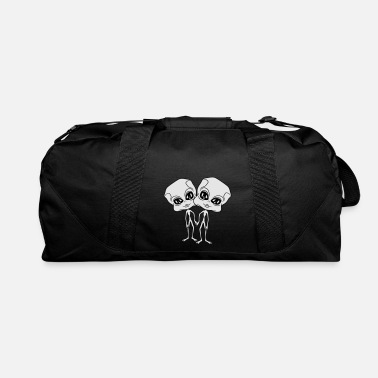 Flying couple couple love in love hands holding friends t - Duffle Bag