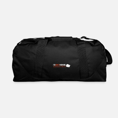 Chinese I'd Rather Be With My Pets - Duffle Bag