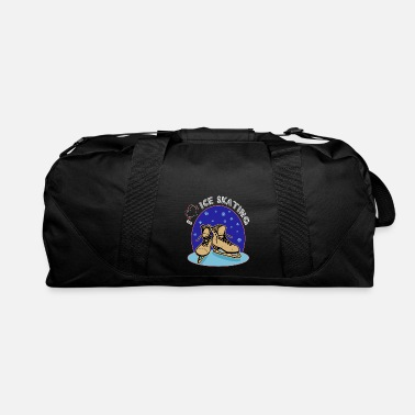 Skate skating skating to skate gift skates ice - Duffel Bag