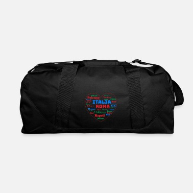 Cuore ITALY HEART ITALIA CUORE WORD CLOUD HOLIDAY (AZUR) - Duffle Bag