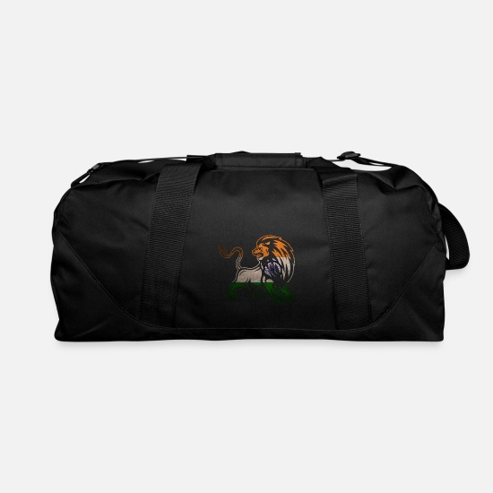 Ganesha Bags & Backpacks - India New-Delhi Lion - Duffle Bag black