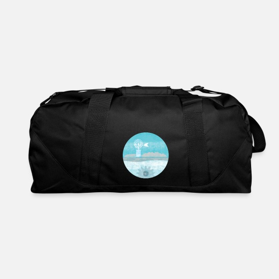 Balearic Islands Bags & Backpacks - islas baleares - Duffle Bag black