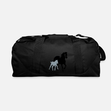 Foal mare with foal - Duffle Bag
