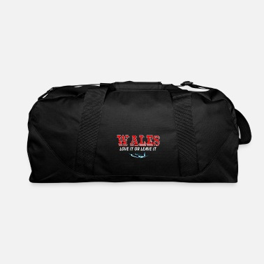 National Team Wales Love It Or Leave It Country Love Nation - Duffle Bag