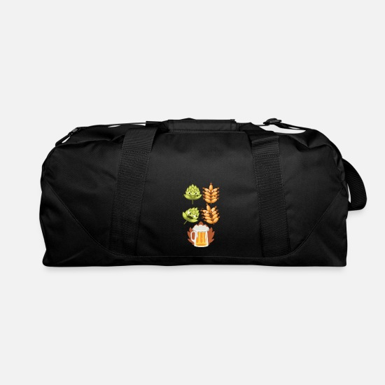 Meme Bags & Backpacks - Funny Beer Fusion Bachelor Beer Pong Drinking Gift - Duffle Bag black