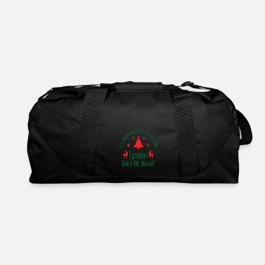 Epstein Didn T Kill Epstein Didn t Kill Himself Christmas - Duffle Bag
