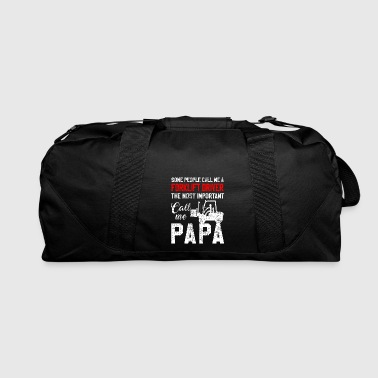 Father Fathers Day forklift - Duffel Bag