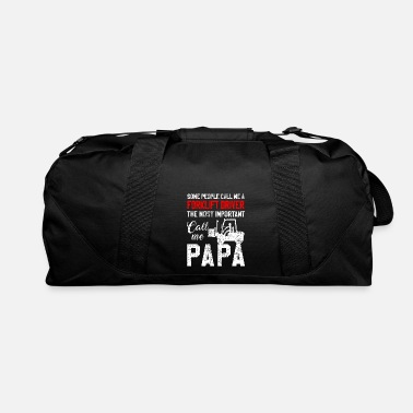 Fathers Day Father Fathers Day forklift - Duffel Bag