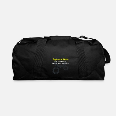 Motto Engineer motto - Duffle Bag