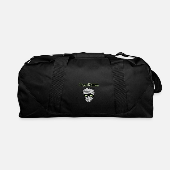 I Love Bags & Backpacks - mummy - Duffle Bag black