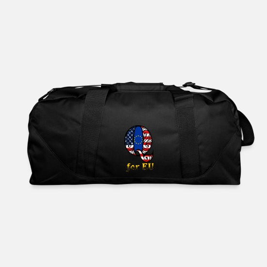 New World Order Bags & Backpacks - Q for EU - Duffle Bag black