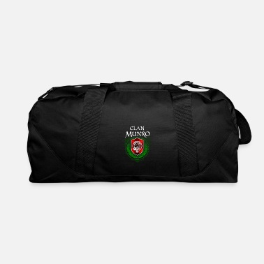 Clan Munro Surname Scottish Clan Tartan Crest Badge - Duffle Bag